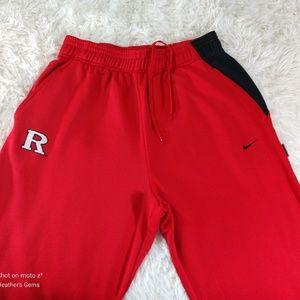 Nike Team Fit Dry RUTGERS Basketball Sweatpants